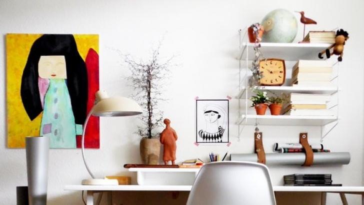 Buro Deko Ideen Home Office Dekorationsideen Foto