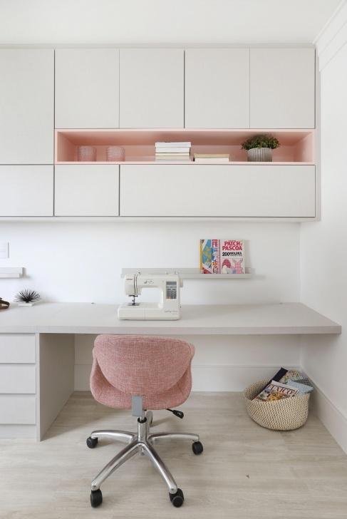 Schlafzimmer Home Office Dekorationsideen Foto
